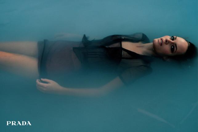 PRADA - Women's S/S 1997 Photographer: Glen Luchford Model: Amber Valletta Stylist: Alex White Location: Rome - Italy