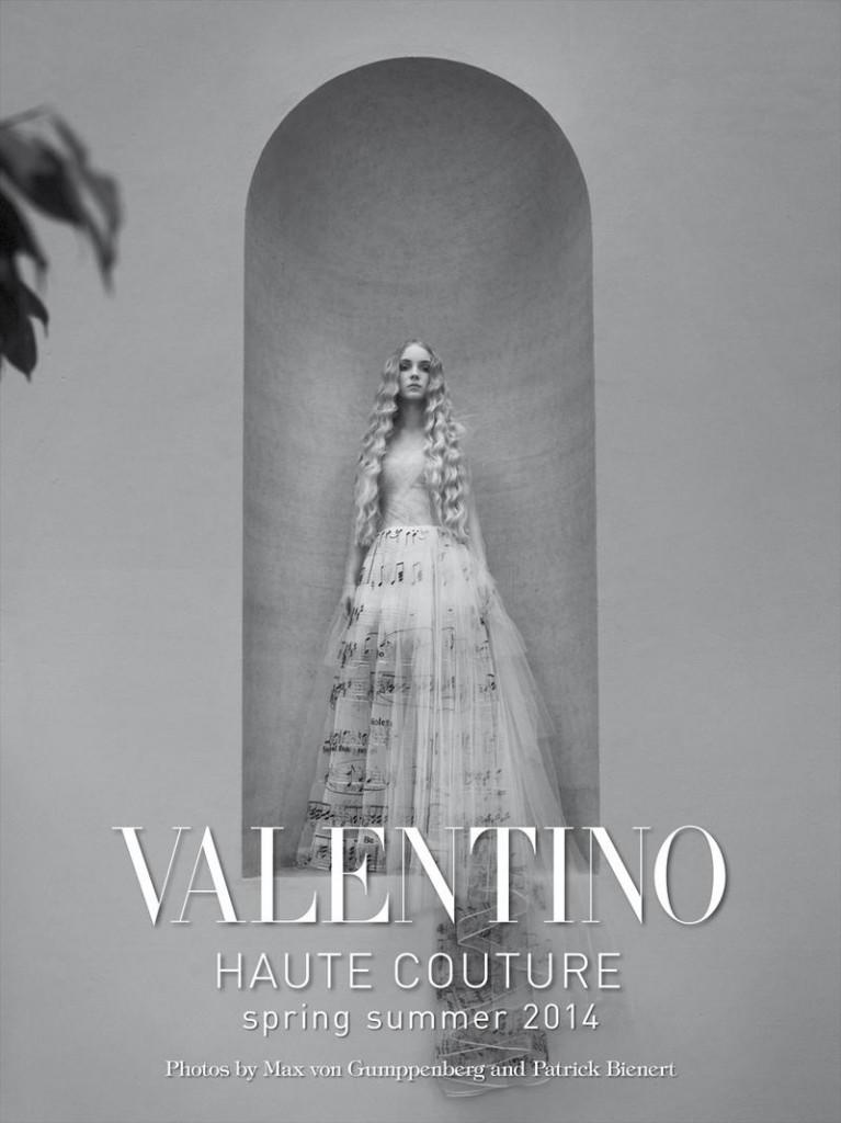 VOGUE ITALIA - Valentino - Couture 2014 Photographer: Von Gumppenberg & Bienert Model: Anne Catherine Lacroix - Helena Severin - Lera Tribel Stylist: Jodie Barnes Location: Rome - Italy