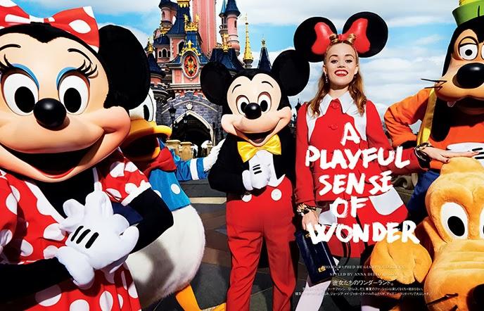VOGUE JAPAN - 2014 Photographer: Giampaolo Sgura Model: Georgia May Jagger - Chiharu Hokunugi Stylist: Anna Dello Russo Location: Paris - France