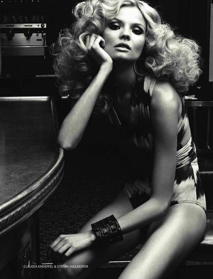 VOGUE RUSSIA - 2013 Photographer: Indlekofer & Knoepfel Model: Magdalena Frackowiak Stylist: Veronique Didry Location: Paris - France