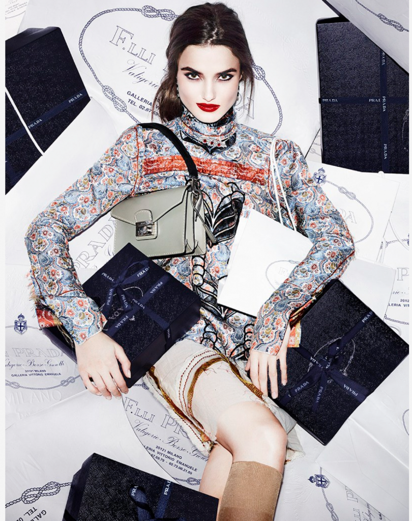 VOGUE SPAIN - 2015 Photographer: Matt Irwin Model: Blanca Padilla Stylist: Martina Gallo Location: Milan - Italy