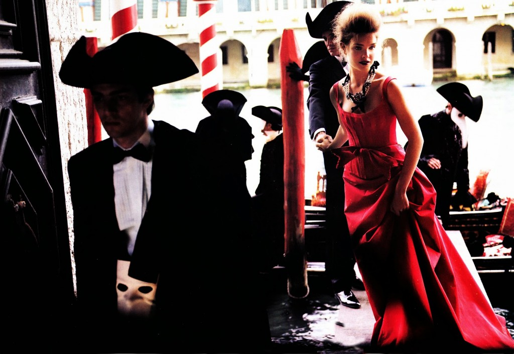 VOGUE USA - 2005 Photographer: Mario Testino Model: Natalia Vodianova Stylist: Grace Coddington Location: Venice - Italy