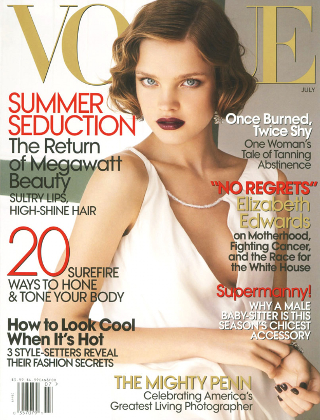 VOGUE USA - 2007 Photographer: Mario Testino Model: Natalia Vodianova - Justin Portman Stylist: Tonne Goodman Location: Capri - Italy