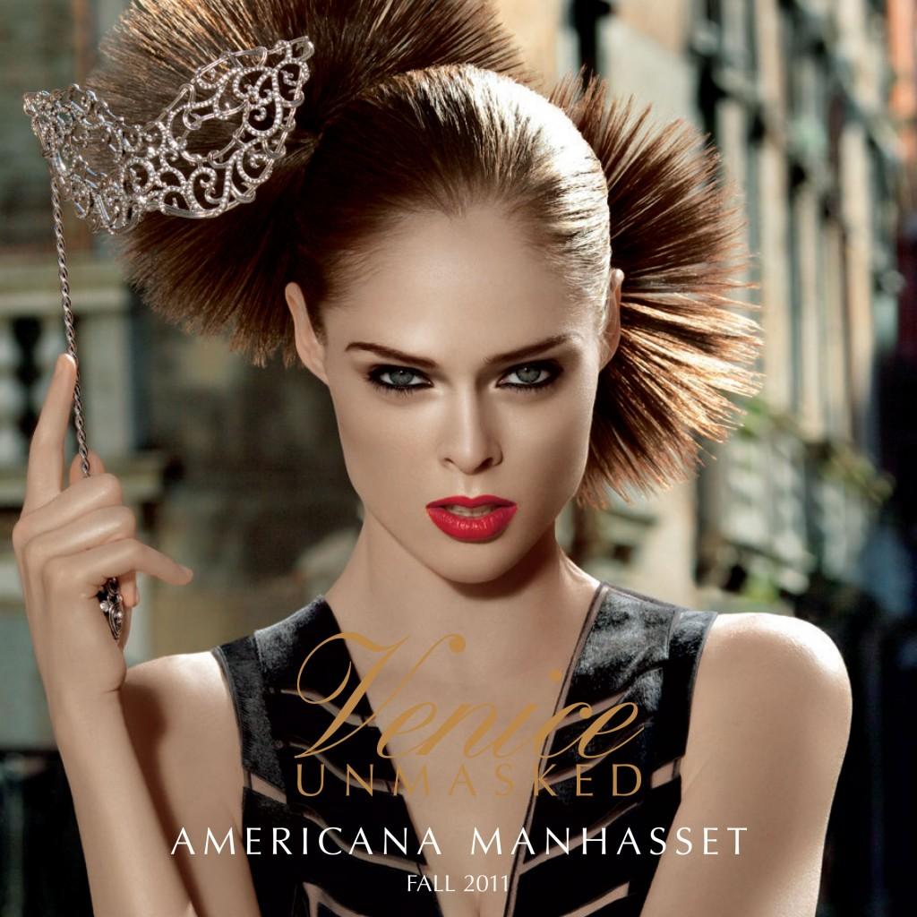 AMERICANA MANHASSET - Fall 2011 Photographer: Laspata & Decaro Model: Coco Rocha Stylist: Tara Mooser Location: Venice - Italy