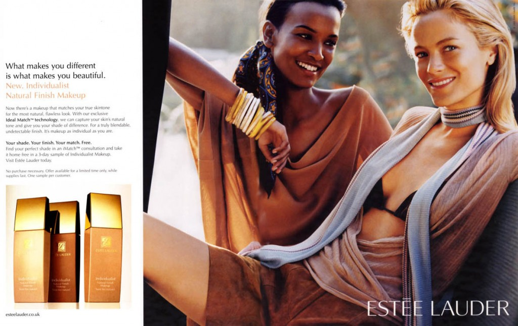 ESTEE LAUDER - Individualist 2003 Photographer: Mario Testino Model: Carolyn Murphy - Liya Kebede Stylist: Marie-Amelie Sauvè Location: Ibiza - Spain