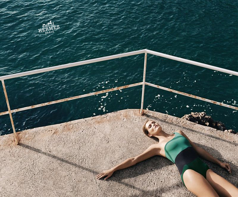 HERMES - VESTIAIRE D'ETE 2012 Photographer: Zoe Ghertner Model: Malgosia Bela Stylist: Alex White Location: Gaeta - Italy