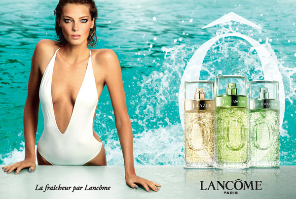 LANCOME - Aquatic Summer 2013 Photographer: Mario Testino Model: Daria Werbowy Location: Rome - Italy