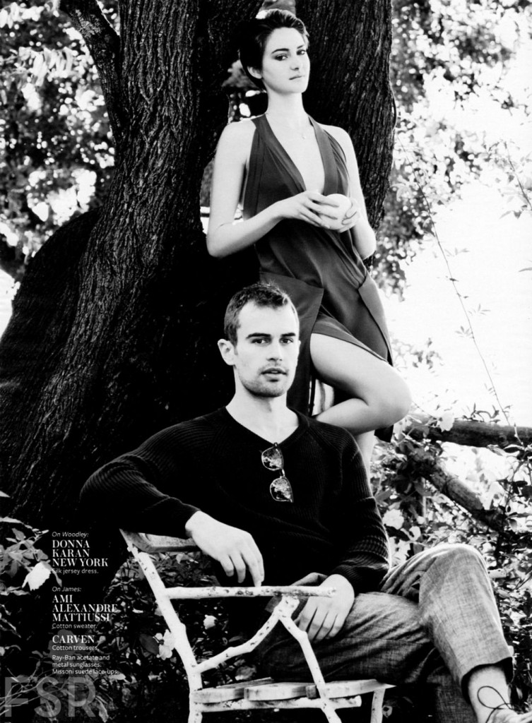 INSTYLE - 2014 Photographer: Horst Diekgerdes Model: Shailene Woodley - Theo James Location: Positano - Italy