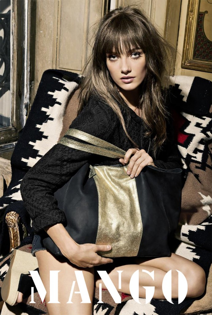 MANGO - S/S 2013 Photographer: Indlekofer & Knoepfel Model: Karmen Pedaru Stylist: Geraldine Saglio Location: Paris - France