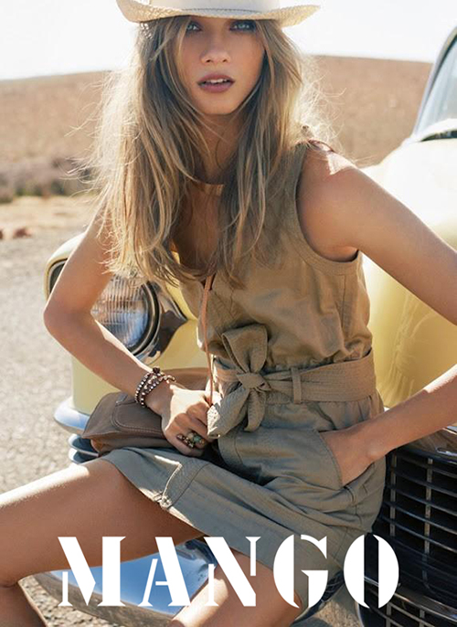 MANGO - S/S 2012 Photographer: Indlekofer & Knoepfel Model: Anna Selezevna Stylist: Geraldine Saglio Location: Marrakesh - Morcco
