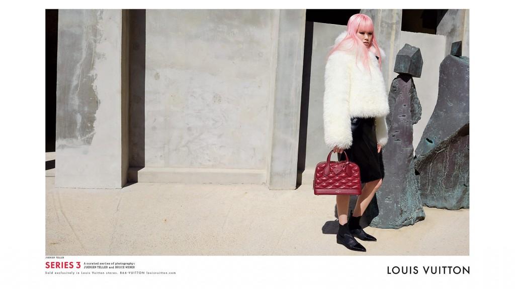 LOUIS VUITTON - F/W 2015 Photographer: Juergen Teller Model: Alicia Vikander - Jennifer Connelly - Liya Kebede - Fernanda Ly - Angelica Ruthledge Stylist: Marie-Amelie Sauvè Location: Barcelona - Spain