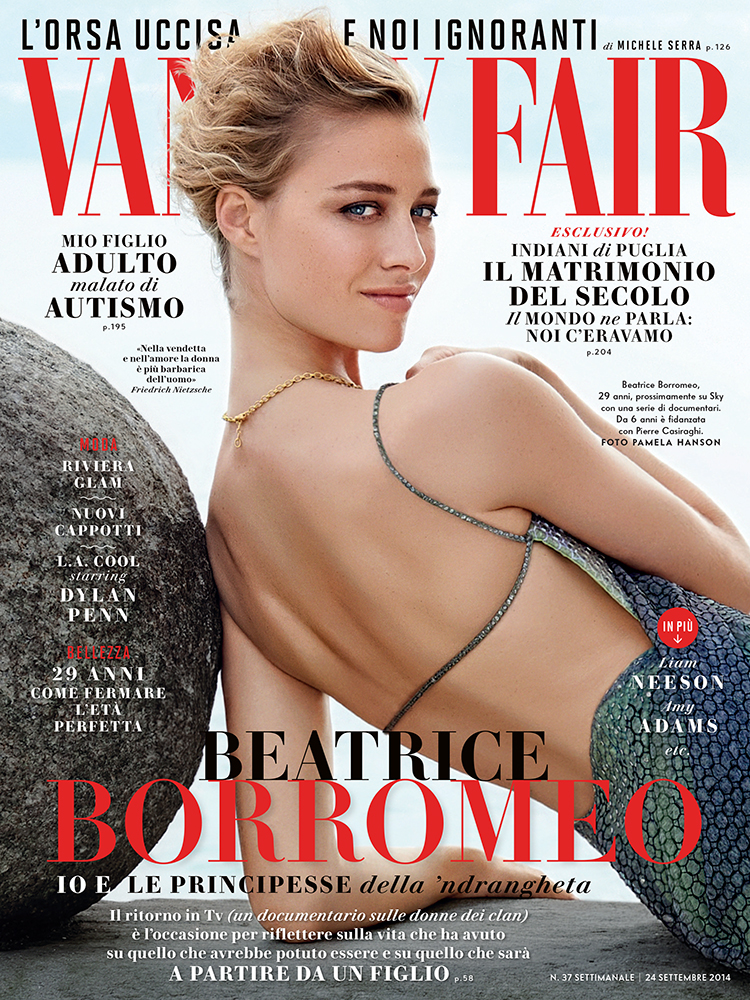 VANITY FAIR ITALIA - 2014 Photographer: Pamela Hanson Model: Beatrice Borromeo Stylist: Sciascia Gambaccini