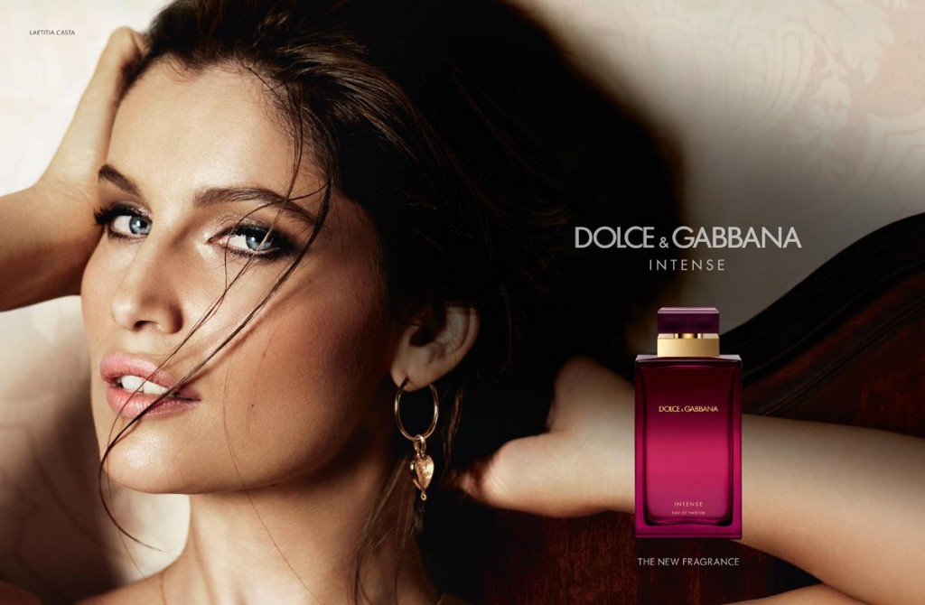 DOLCE & GABBANA - Intense Fragrance 2013 Photographer: Mario Testino Model: Laetitia Casta - Noah Mills Location: Paris - France