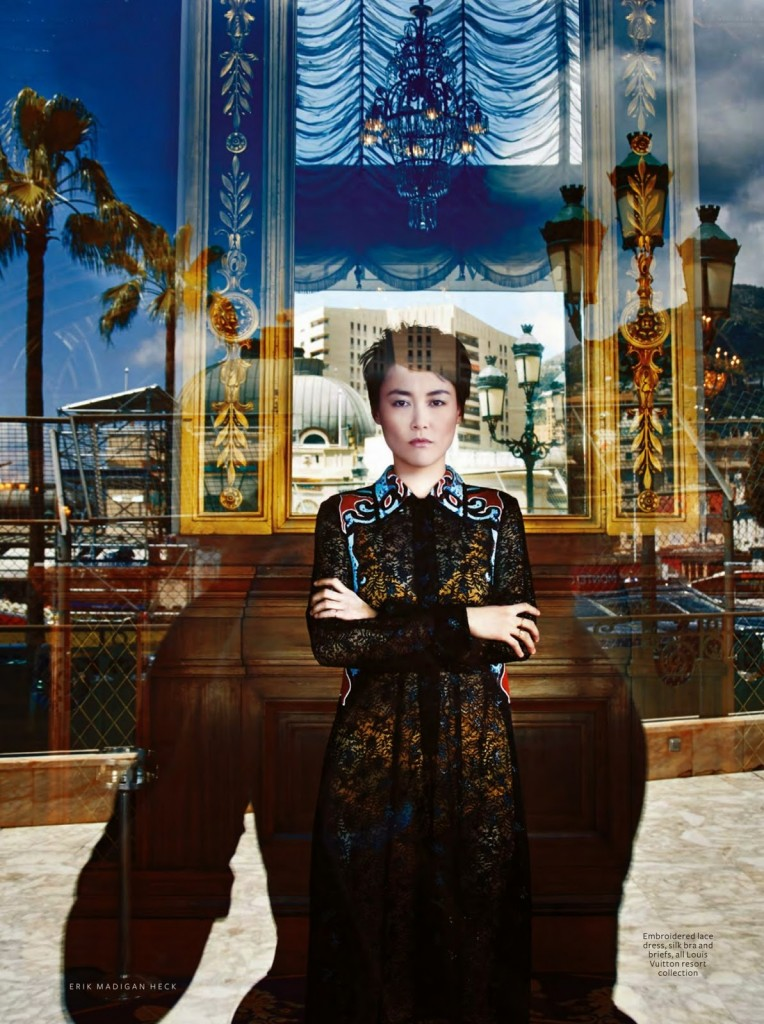 INSTYLE - 2014 Photographer: Erik Madigan Heck Model: Rinko Kukichi Stylist: Melissa Rubini Location: Monte Carlo - Monaco