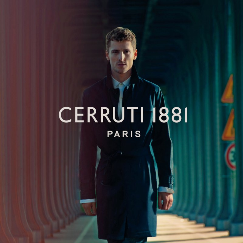 CERRUTI 1881 - S/S 2013 Photographer: Jeff Burton Model: George Barnett Stylist: Rober Rabenstainer Location: Paris - France