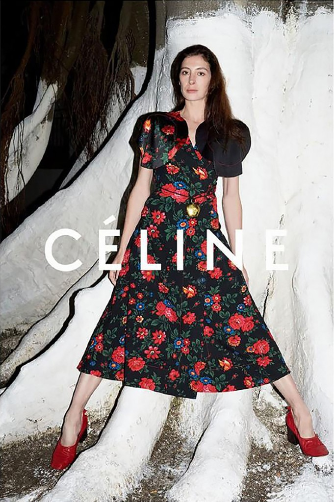 CÉLINE - S/S 2015 Photographer: Juergen Teller Model: Freya Lawrence - Joan Didion Stylist: Phoebe Philo  Location: Tangers - Morocco