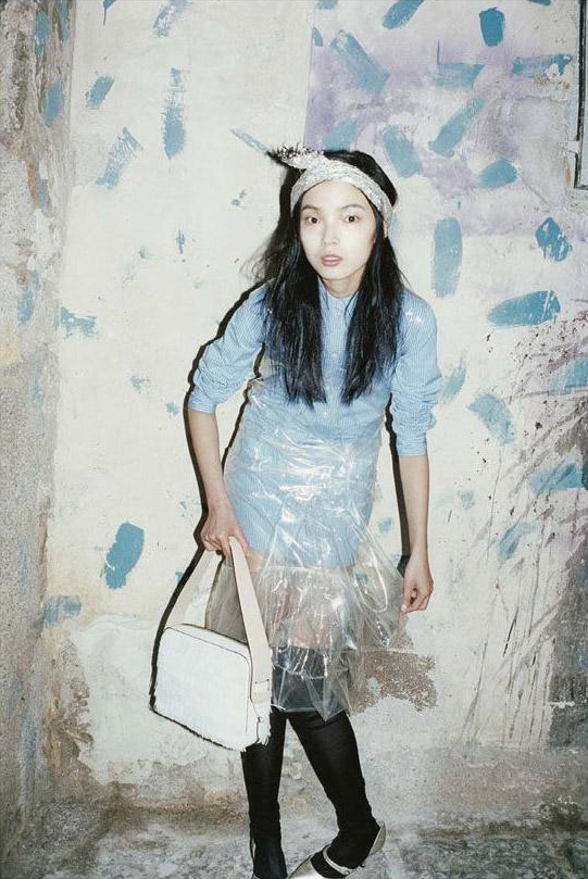 MARC JACOBS - S/S 2012 Photographer: Juergen Teller Model: Xiao Wen Ju Stylist: Poppy Kain Location: Palermo - Italy
