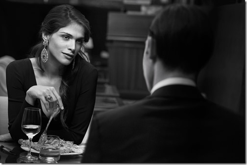 BUCCELLATI - 2015 Photographer: Peter Lindbergh Model: Elisa Sednaoui Location: Milan - Italy