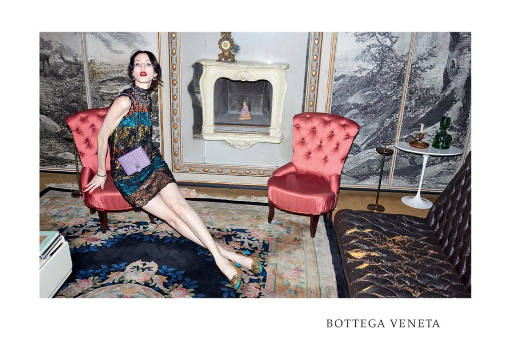 BOTTEGA VENETA - 2015 Photographer: Juergen Teller Model: Anna Cleveland - Freddy Drabble Location: Turin - Italy