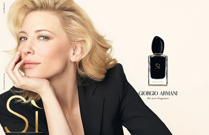 GIORGIO ARMANI - Si Fragrance 2014 Photographer: Tom Munro Model: Cate Blanchett Location: Milan - Italy