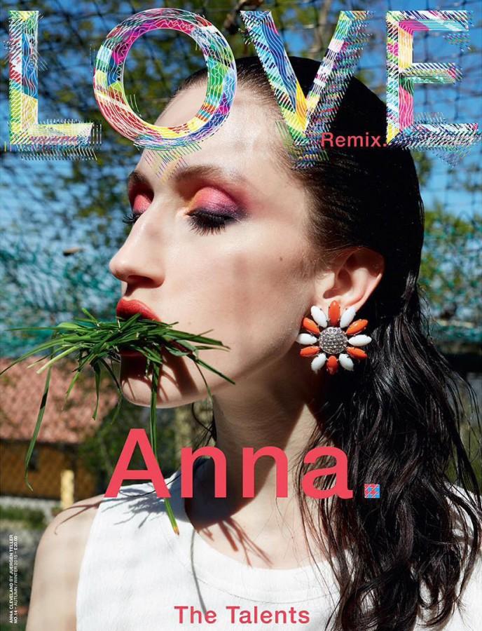 LOVE MAGAZINE - 2015 Photographer: Juergen Teller Model: Anna Cleveland  Stylist: Katie Grand Location: Turin - Italy