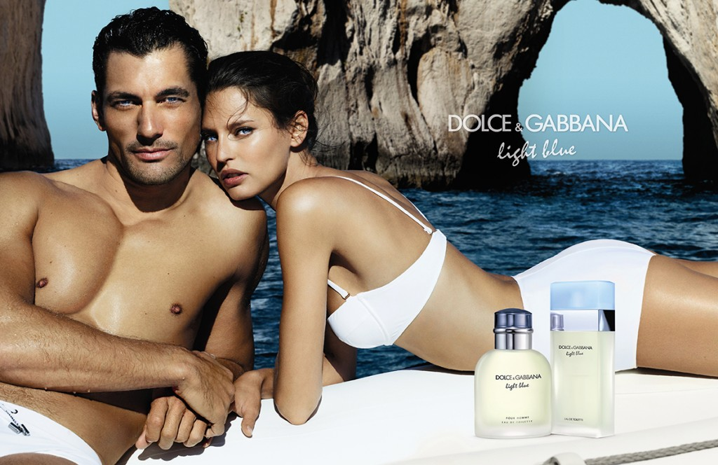 DOLCE & GABBANA - Light Blue 2012 Photographer: Mario Testino Model: Bianca Balti & David Gandy Stylist: Anastasia Barbieri  Location: Capri - Italy