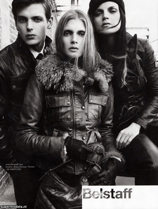 BELSTAFF - 2007 Photographer: Steven Meisel Model: Malgosia Bela Stylist: Andrew Richardson Location: Los Angeles - USA