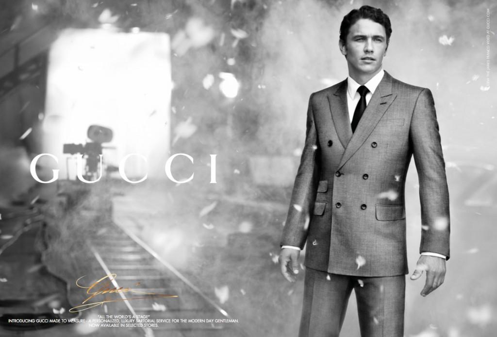 GUCCI - 2011 Photographer: Nathaniel Goldberg Model: James Franco Stylist: Melanie Ward Location: Rome - Italy