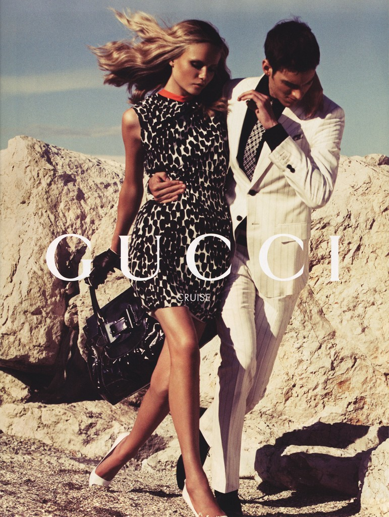 GUCCI - Cruise 2007 Photographer: Inez & Vinoodh Model: Natasha Poly - Julienne Ferre Stylist: Emmanuelle Alt Location: Venice - Italy