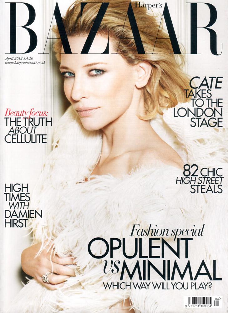 HARPER'S BAZAAR - 2012 Photographer: Alexi Lubomirski Model: Cate Blanchett Stylist: Cathy Kasterine Location: Rome - Italy