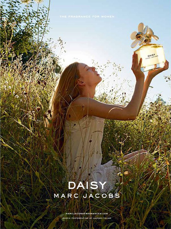 MARC JACOBS - Daisy 2014 Photographer: Juergen Teller Model: Ondria Hardin Stylist: Poppy Kain Location: Munich - Germany