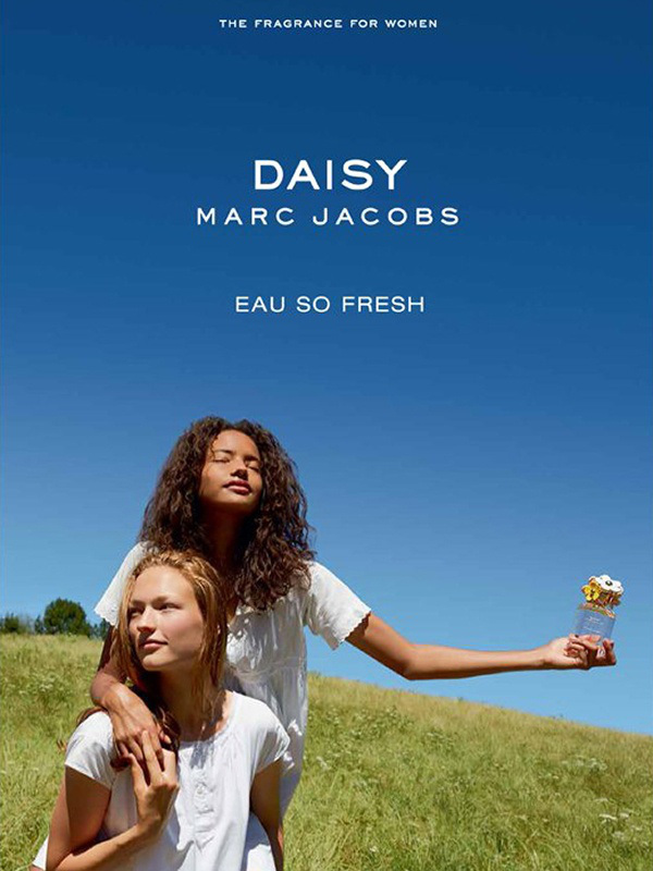 MARC JACOBS - Eau So Fresh 2014 Photographer: Juergen Teller Model: Ondria Hardin & Malaika Firth Stylist: Poppy Kain Location: Munich - Germany