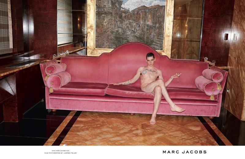 MARC JACOBS - S/S 2014 Photographer: Juergen Teller Model: Cole Mohr Stylist: Alister Mackie Location: Venice - Italy