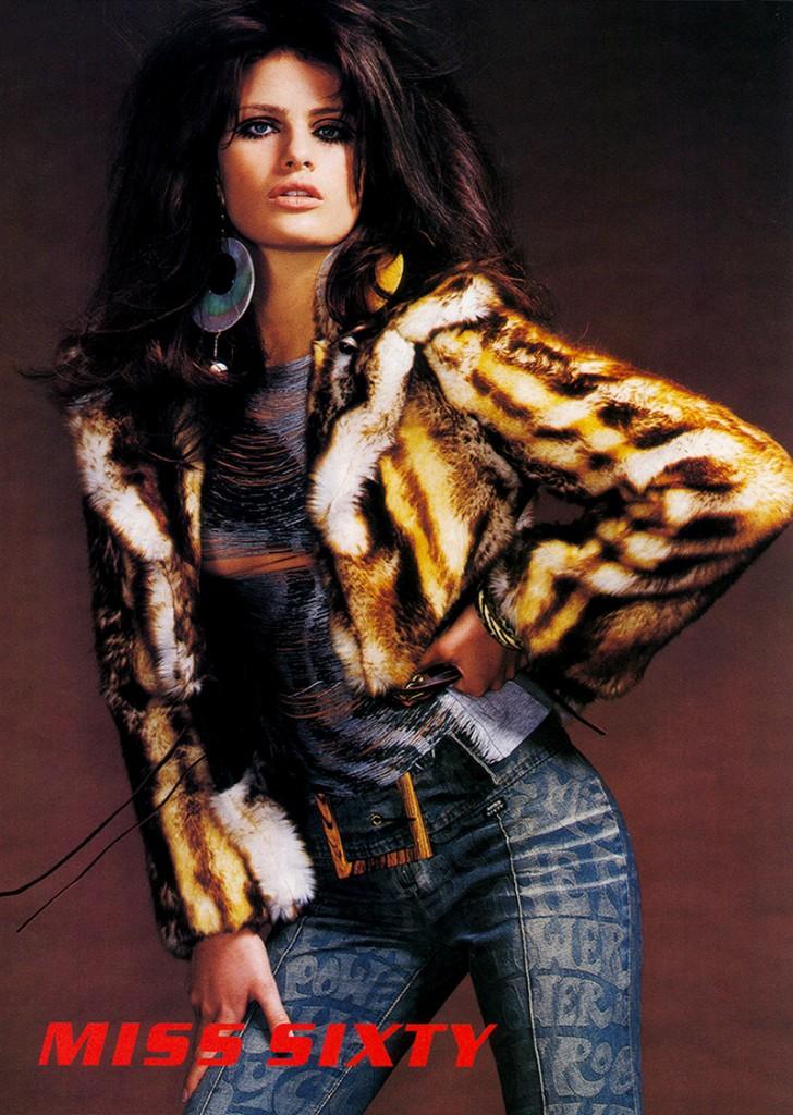 MISS SIXTY - F/W 2002 Photographer: Mario Testino Model: Isabeli Fontana Location: Rome - Italy