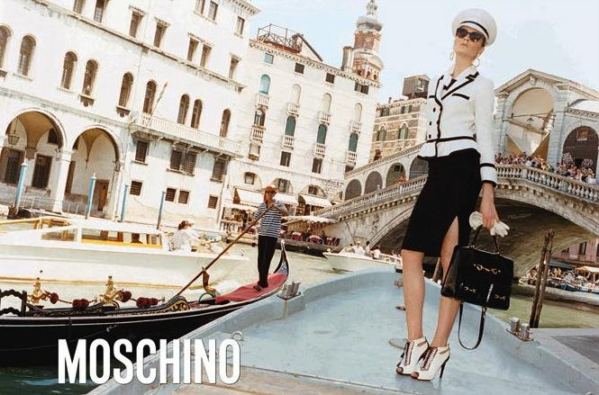 MOSCHINO - F/W 2011 Photographer: Juergen Teller Model: Irina Kulikova Stylist: Anna Dello Russo Location: Venice - Italy