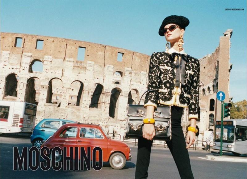 MOSCHINO - S/S 2012 Photographer: Juergen Teller Model: Kasia Struss Stylist: Anna Dello Russo Location: Rome - Italy