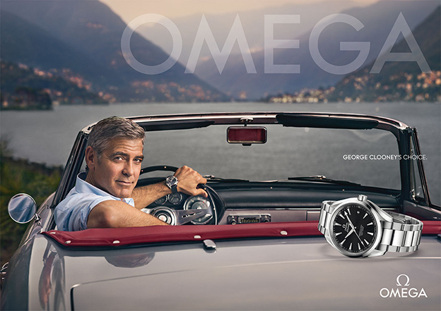 OMEGA - 2014 Photographer: Sam Jones Model: George Clooney Location: Como - Italy