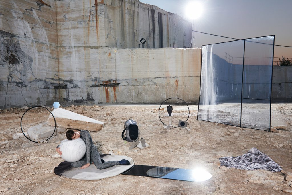 LIVING MAGAZINE - Corriere della Sera Photographer: Tim Gutt Model: Sylvia van der Klooster Stylist: Hatty Ellis-Coward Location: Tivoli IT
