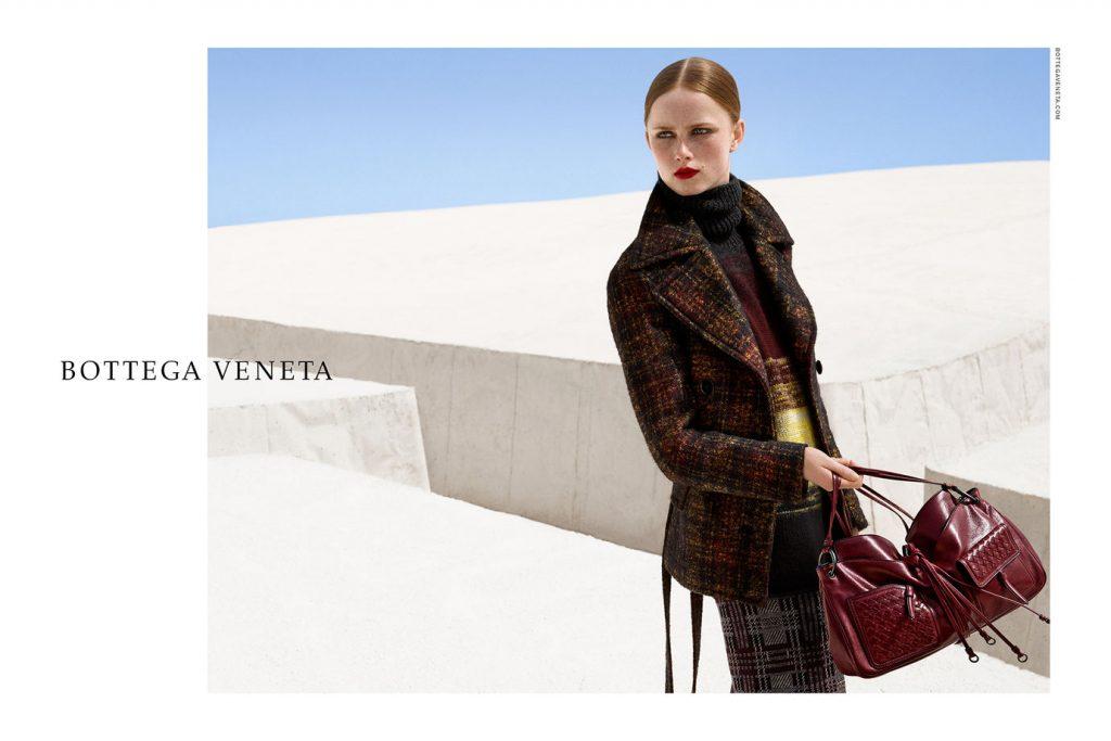 BOTTEGA VENETA - Fall Winter 16/17 Photographer: Viviane Sassen Model: Simon Fitskie, Rianne Van Rompaey Location: Grande Cretto of Gibellina, Sicily