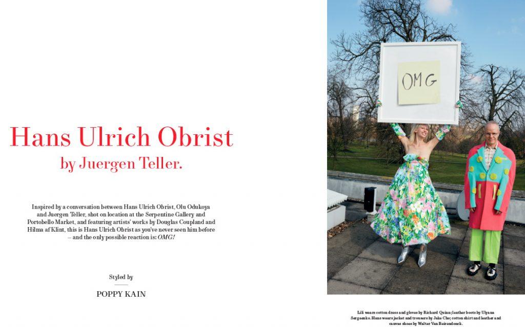 MODERN MATTER - 2016 Photographer: Juergen Teller Stylist: Poppy Kain Location: London, UK