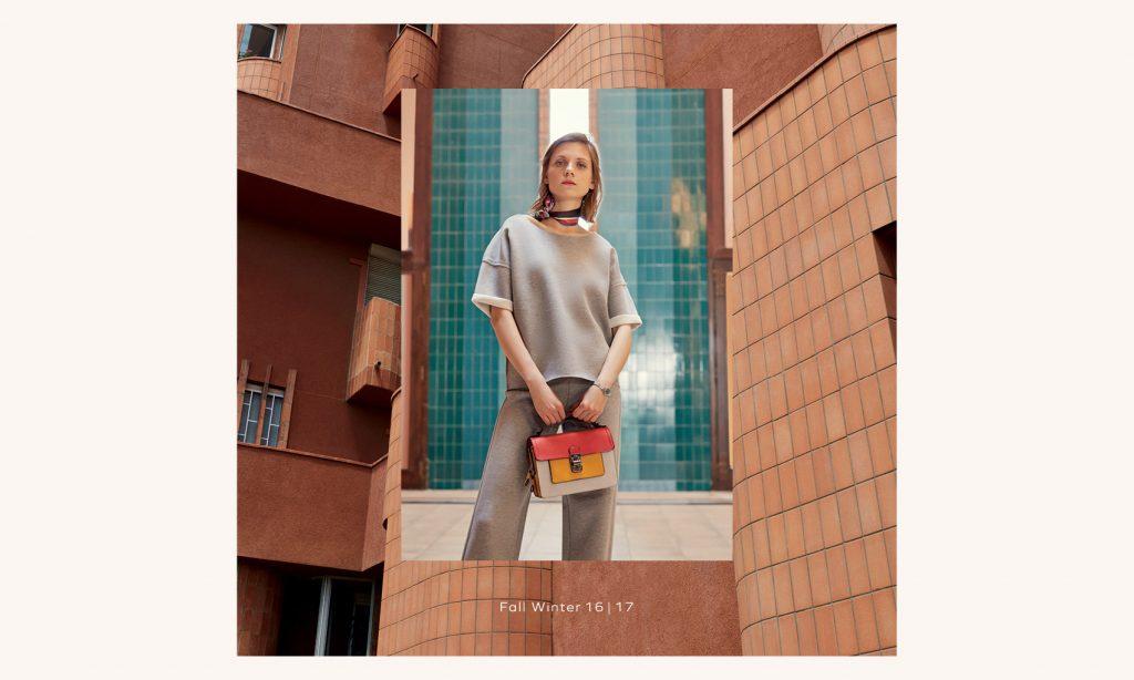 PARFOIS - Fall Winter 16/17 Photographer: Rodrigo Carmuega Model: Maria Loks Stylist: Kevin Kim Location: Walden 7, Barcelona SP