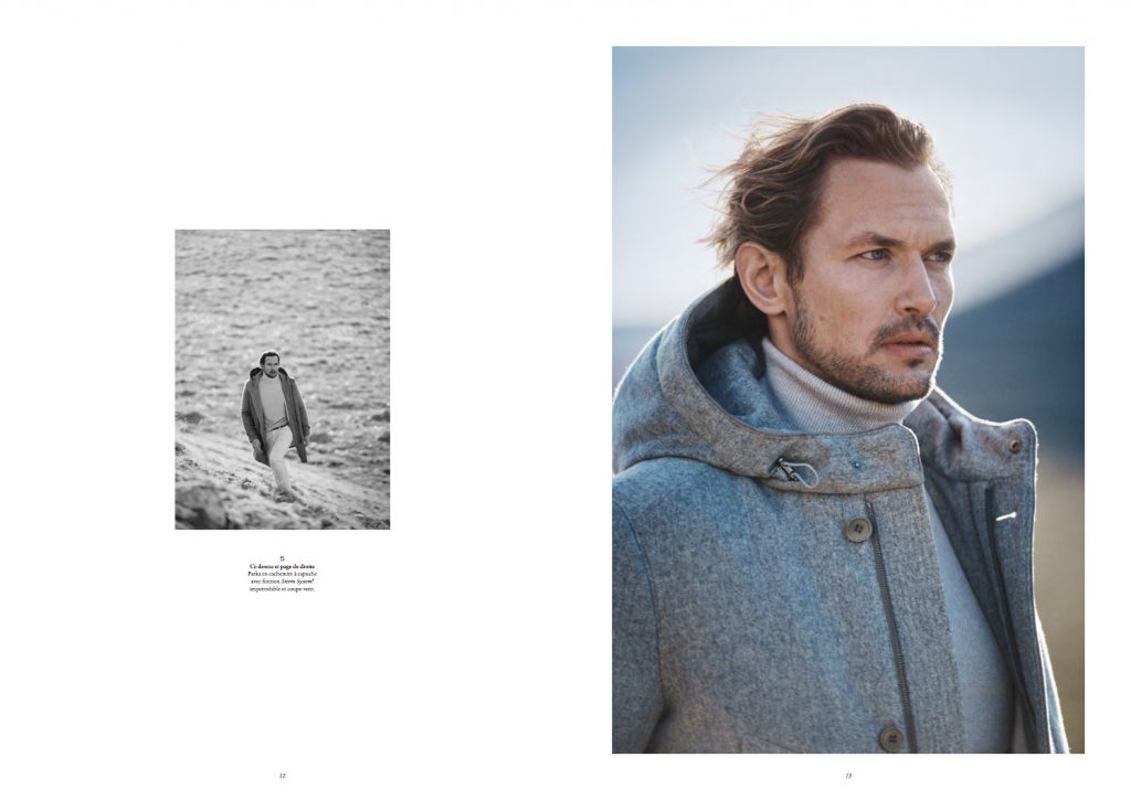 LORO PIANA - Fall Winter 16/17 Photographer: Boo George Model: Crista Cober, Robertas Aukstuolis Stylist: Beat Bollinger Location: Gran Sasso, Abruzzo, Italy