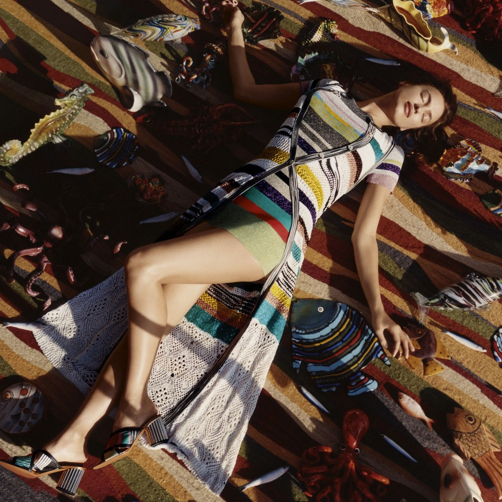 MISSONI - Spring Summer 2017 Photographer: Harley Weir Stylist: Vanessa Reid Location: Sardinia, Italy