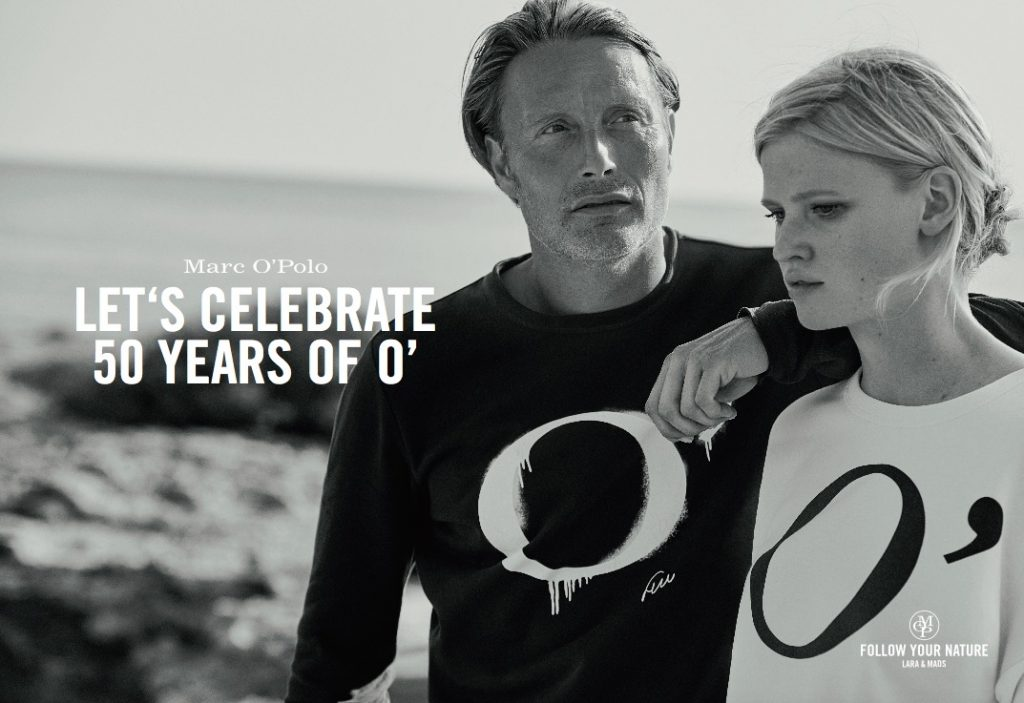 MARC O'POLO - Spring Summer 2017 Photographer: Peter Lindbergh Model: Mads Mikkelsen & Lara Stone Stylist: Aleksandra Woroniecka Location: Ibiza, Spain
