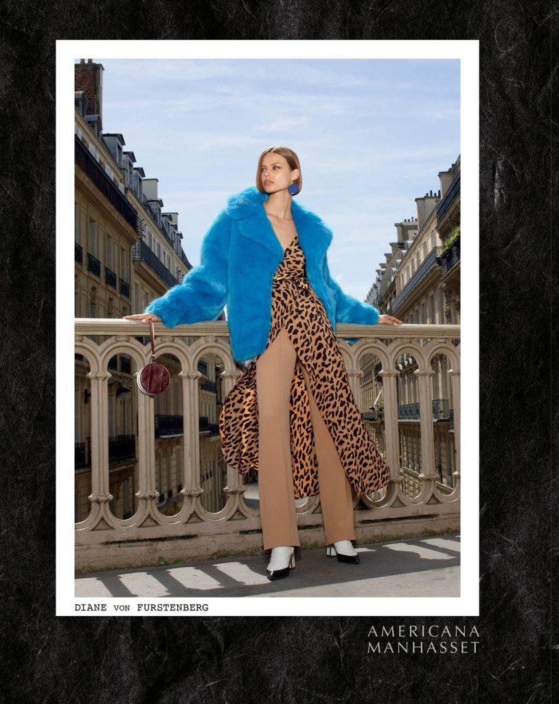 AMERICANA MANHASSET - Fall 2017 Photographer: Laspata & Decaro Model: Birgit Kos & Salomon Diaz Stylist: Tara Moser Location: Paris, France