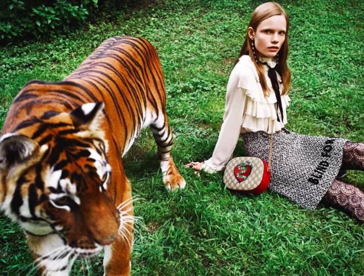 GUCCI - Gift Giving 2016 Photographer: Angelo Pennetta Stylist: Poppy Kain Location: Giardini di Ninfa, Italy