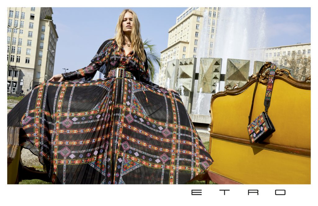 ETRO - Fall Winter 2017 Photographer: Juergen Teller Model: Anna Ewers, Baptiste Raduf Stylist: Anastasia Barbieri Location: Berlin, Germany