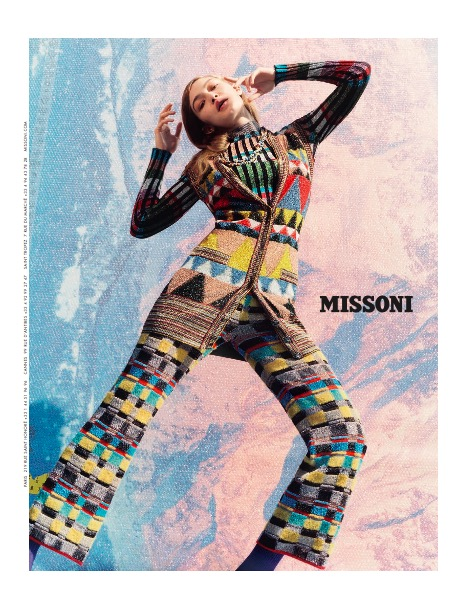 MISSONI - Fall Winter 2017 Photographer: Harley Weir Model: Gigi Hadid & Jordan Legessa Stylist: Vanessa Reid Location: Varese, Italy