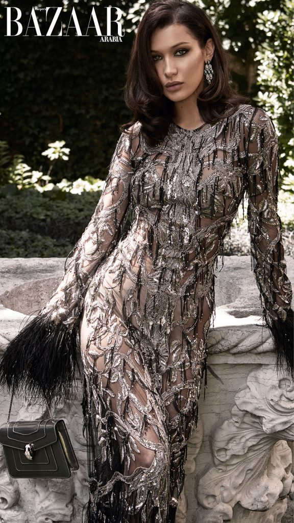 HARPER'S BAZAAR ARABIA - October 2017 Photographer: Victor Demarchelier Model: Bella Hadid Stylist: Anna Castan Location: Venice, Italy