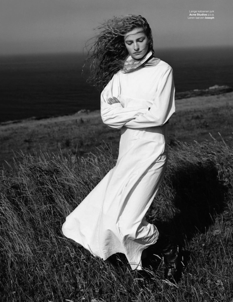 VOGUE NETHERLANDS - October 2017 Photographer: Ben Weller Model: Felice Nova Stylist: Dimphy Den Otter Location: Cornwall, UK
